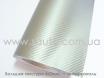 Карбоновая пленка серебристая для авто, ширина 1,52м.  № 1