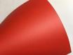 Красная матовая пленка с мкроканалами 1,52м. № 3