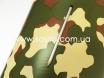 Армейская виниловая пленка камуфляж на авто, ширина 1,52.м.  с микроканалами № 3