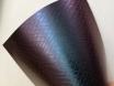 Пленка темно-синияя хамелеон под кожу змеи 3D, микроканалы 1.52м. № 2