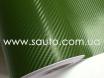 Карбоновая пленка зеленая, темоно-зеленый армейский карбон 3D № 5