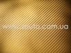 Золотая пленка под карбон 3D TR1  № 5