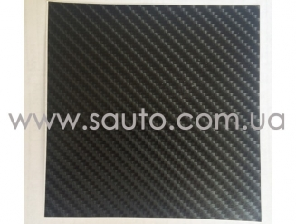 Пленка 4D карбон черная, Китай, под лаком ширина 1,52м.