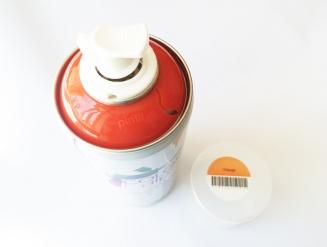 Жидкая резина в баллончике Сolor Dip цвет оранжевый, 400ml.