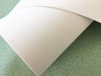 Пленка алькантара белая для авто, ширина 1,52м. (виниловая основа)