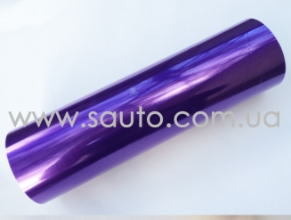 Фиолетовая пленка на фары 3-х слойная + защита