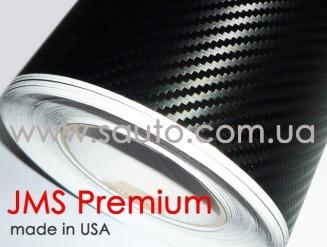 Американская карбоновая пленка JMS Premium, черная с матовым отливом USA