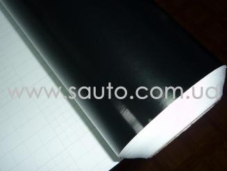 Черный глянец пленка  для оклейки крыши авто, 1,52м. 2-слоя