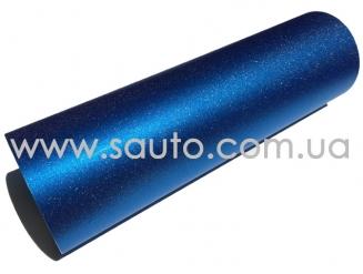 Пленка для фар алмазная крошка синяя