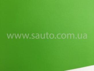 Салатовая (зеленая) матовая самоклеящаяся пленка для оклейки авто, (виниловая+ПВХ) CarLux+ 1,52м
