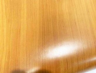 Декоративная самоклеющейся пленка под дерево желтая (вишня) 0.9м