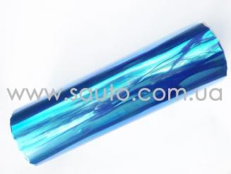 Синяя пленка хамелеон на фары 3-х слойная +защита