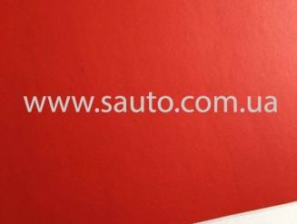 Красная матовая пленка с мкроканалами 1,52м.