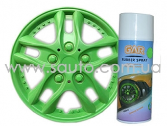 Жидкая резина цвет зеленый Rubber Spray 400мл. универсальное покрытие любой поверхности