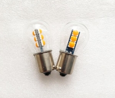 Купить светодиодные лампы в задний ход P21w цоколь, (классического типа, СВЕТ ЖЕЛТЫЙ)