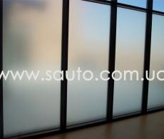 Пленка самоклеющаяся декоративная матовая для стекла Synray 1,22м.