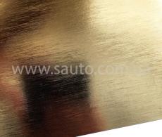 Пленка золотой хром шлифованный для авто, зеркальная пленка глянец 1,52м.