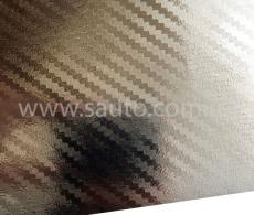 Хром карбоновая пленка 3D карбон хром серебро, Carlux+ ширина 1.52м.