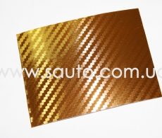 Карбон 3D золото, LG Printing Film
