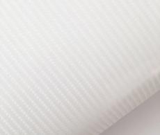 4D карбон белый, высокое качество, микроканалы, под лаком ширина 1,52м.