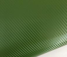 Карбоновая пленка зеленая, темоно-зеленый армейский карбон 3D