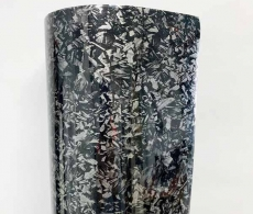 Кованый карбон пленка купить 1.52м. (черный).