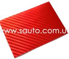 Красный глянц карбон LG Printing Film