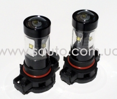 Лампа светодиодная  H16, 30W Original OSRAM LED + Линза