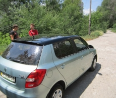 Оклейка автомобиля пленкой № 11