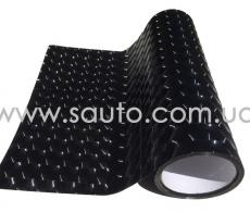 Пленка для фар 4D черная