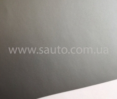 Светло-серая матовая самоклеящаяся пленка для оклейки авто, (виниловая+ПВХ) CarLux+ 1,52м