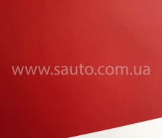 Красная матовая самоклеящаяся пленка для оклейки авто, (виниловая+ПВХ) CarLux+ 1,52м