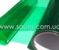Темно-зеленая пленка для фар тонировка + защита
