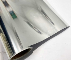 Пленка хром для авто, под хром серебро, зеркальная пленка глянец 1,52м. 3-слоя