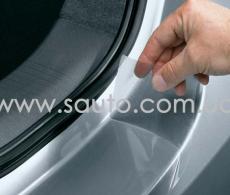 Защитная полоса на задний бампер у крышки багажника, Пленка защитная для бампера