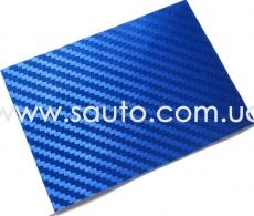 Синий глянц карбон LG Printing Film