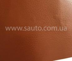 Коричневая виниловая пленка под кожу, самоклейка Senof 1.52м.
