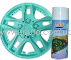Жидкая резина цвет ментол-зеленый Rubber Spray 400мл.